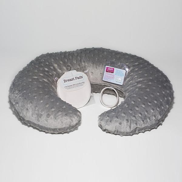 Gray Minky Gift Set